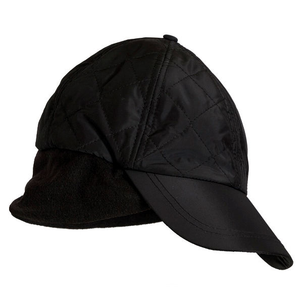 Ladies Quilted Thermal Cap, Black