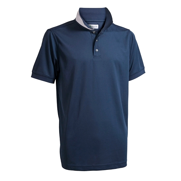 Mens Performance Golf Polo, Navy