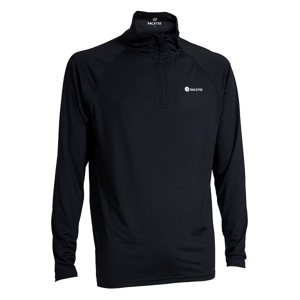 Mens Zip Neck Baselayer - Navy
