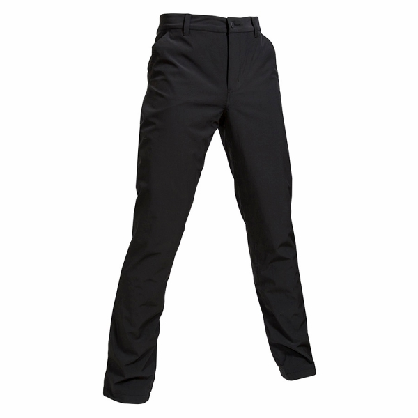 "Mens Thermal Rain Trousers 34"", Black"