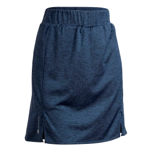 Ladies Melange Skort, Navy