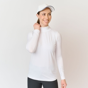Ladies First Skin Turtleneck, White