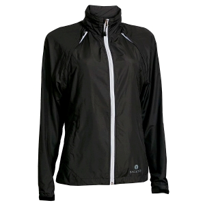 Ladies Packable Windjacket, Black