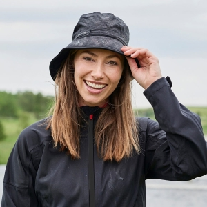BACKTEE Rain Hat, Black