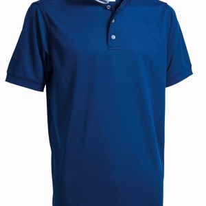 Mens Performance Polo, Hazard Blue